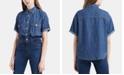 Levi's Madison Cotton Short-Sleeve Denim Shirt