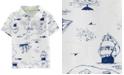 Carter's Toddler Boys Printed Cotton Polo