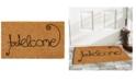 """Home & More Kitty Curlicue 17"""" x 29"""" Coir/Vinyl Doormat"""