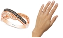 Le Vian Chocolatier® Diamond Accent Filigree Ring (1/4 ct. t.w.) in 14k Rose Gold