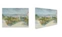 "Trademark Global Van Gogh 'Montmartre Behind The Moulin De La Galette' Canvas Art - 19"" x 14"" x 2"""