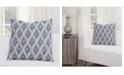 "Siscovers Diamond Creek 20"" Designer Throw Pillow"