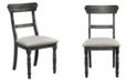 Progressive Furniture Muse Ladder Back Chair - Set of 2