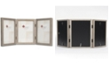 """Lawrence Frames Hinged Triple Gray Wood Picture Frame - Gallery Collection - 5"""" x 7"""""""