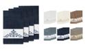 Linum Home Turkish Cotton Scarlet 4-Pc. Embellished Bath Towel Set