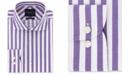 Tommy Hilfiger Men's Slim-Fit Non-Iron THFlex Supima® Stretch Bold Stripe Dress Shirt