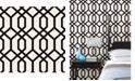 "Brewster Home Fashions Trellis Montauk Wallpaper - 396"" x 20.5"" x 0.025"""