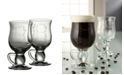 Belleek Pottery Irish Coffee Glass Pair