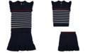 Polo Ralph Lauren Toddler Girls Striped Cotton Sweater & Skirt Set