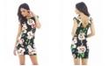 AX Paris Colouful Floral Printed Bodycon Dress