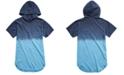 Univibe Big Boys Zayden Dip-Dyed Hooded T-Shirt
