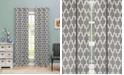 "Duck River Textile Kyra 38"" x 84"" Trellis Print Blackout Curtain Set"