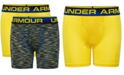 Under Armour Big Boys 2-Pk. Space-Dyed Boxerjocks