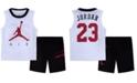 Jordan Little Boys 2-Pc. Air-Print Tank Top & Shorts Set