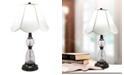 Dale Tiffany Ela 24% Lead Hand Cut Crystal Table Lamp