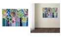 """Trademark Global Carrie Schmitt 'Tadasana' Canvas Art - 30"""" x 47"""""""
