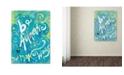 "Trademark Global Natasha Wescoat '119' Canvas Art - 24"" x 32"""