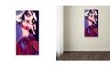 "Trademark Global Natasha Wescoat 'Dark Drifter' Canvas Art - 12"" x 24"""