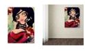 "Trademark Global Natasha Wescoat 'Mermaid Pirate' Canvas Art - 18"" x 24"""