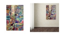 "Trademark Global Josh Byer 'Moms' Canvas Art - 30"" x 47"""