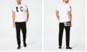Just Cavalli Logo Jogger Pants & T-Shirt