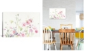 """iCanvas Queen Anne's Lace and Cosmos on White I by Danhui Nai Gallery-Wrapped Canvas Print - 18"""" x 26"""" x 0.75"""""""