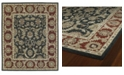 Kaleen Solomon King David-52 Graphite 2' x 3' Area Rug