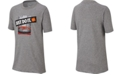 Nike Big Boys Dri-FIT Just Do It Backboard Graphic T-Shirt