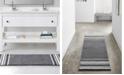 "VCNY Home Aiden Jacquard Chenille 24"" x 60"" Bath Rug"