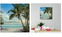 """Courtside Market A Found Paradise II 16"""" x 16"""" Gallery-Wrapped Canvas Wall Art"""