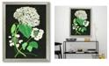 "Courtside Market Hydrangea Study II 16"" x 20"" Framed Canvas Wall Art"