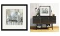 "Courtside Market Midtown Bridge I 16"" x 16"" Framed and Matted Art"