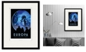 """Courtside Market Europa-Discover Life Under The 16"""" x 20"""" Framed and Matted Art"""
