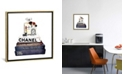 """iCanvas Stack of Fashion Books with Makeup I by Amanda Greenwood Gallery-Wrapped Canvas Print - 18"""" x 18"""" x 0.75"""""""