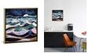 iCanvas Moonlit Ocean by Spacefrog Designs Gallery-Wrapped Canvas Print