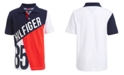 Tommy Hilfiger Big Boys Hilfiger 85 Colorblocked Piqué Polo Shirt