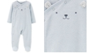 Carter's Baby Boys 1-Pc. Mouse Terry Footed Pajamas