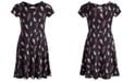 Epic Threads Big Girls Lightning-Print Bow Back Dress, Created for Macy's