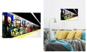 "iCanvas Train Graffiti by Unknown Artist Wrapped Canvas Print - 18"" x 26"""