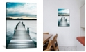 "iCanvas Jetty by Danita Delimont Wrapped Canvas Print - 40"" x 26"""