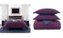Tommy Hilfiger Heritage Stripe 3 Piece King Comforter Set