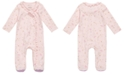 First Impressions Baby Girls Cotton Ruffled Unicorn Coverall, Created for Macy's