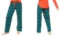 Jenni Cotton Printed Flannel Pajama Pants, Created For Macy's