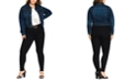 City Chic Trendy Plus Size Stretch Denim Jacket