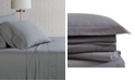 Brooklyn Loom Solid Cotton Percale Queen Sheet Set