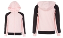 Ideology Big Girls Pieced Zip-Up Hoodie, Created For Macy's