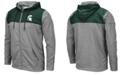 Colosseum Men's Michigan State Spartans Nelson Full-Zip Hooded Sweatshirt
