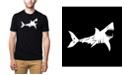 LA Pop Art Men's Premium Word Art T-Shirt - Bite Me