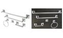Kingston Brass Serano 5-Pc. Bathroom Accessory Set in Polished Chrome