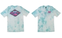 Maui and Sons Men's Bomboro Tie-Dyed Logo Graphic T-Shirt
